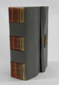 Carrie Valenzuela. Handmade journal.