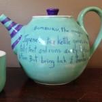 Bumbuku Teapot - back