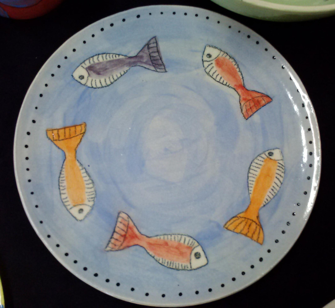 Five Fish Plate