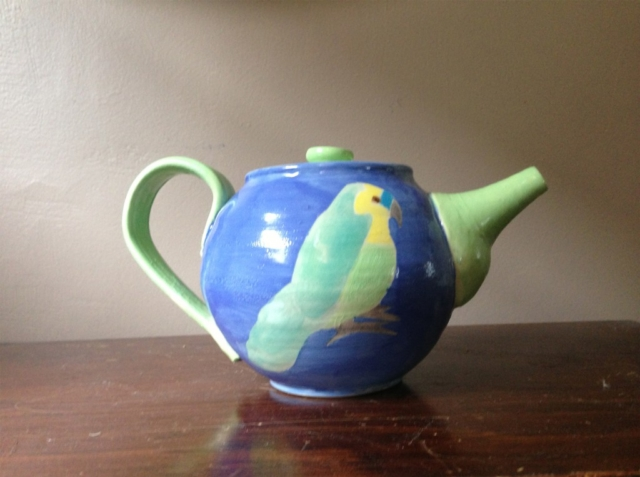 Two Parrot Teapot
