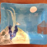 Coat of Two Colors Trickster Platter