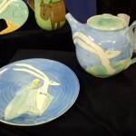 Trickster Teapot and Trickster & Bird Plate