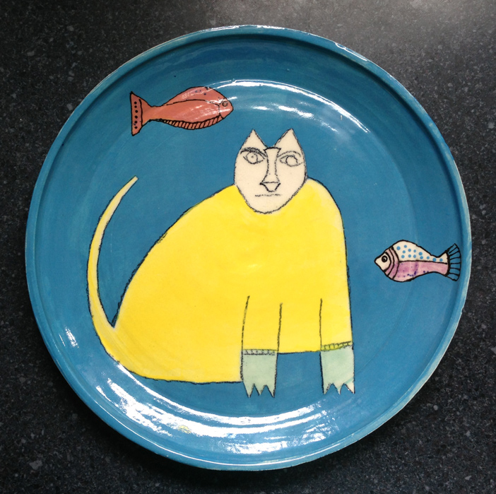Two Fish BluFoot Plate