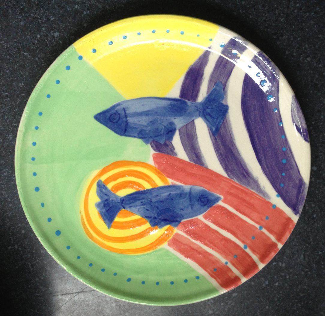 Two Fish Plate
