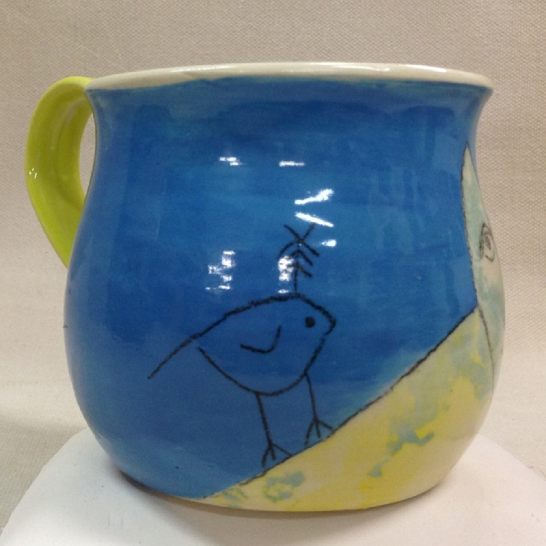 BluFoot Bird Mug