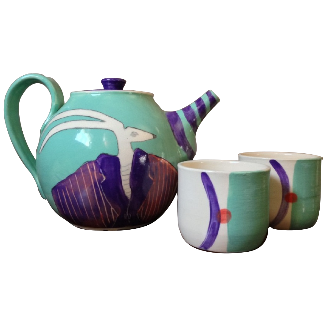Teapot Set Transparent